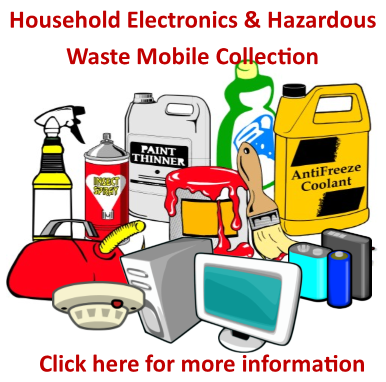 Hazardous Waste Collection Event - Click here for more information