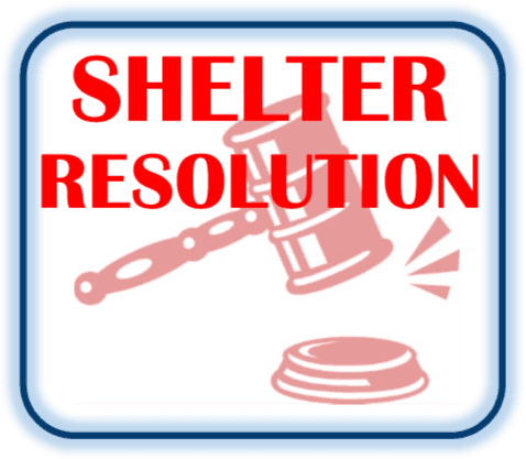 Open Shelter Resolution