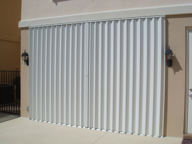Accordian Hurricane Shutters